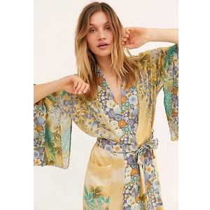 Beach Kimono Women Cover ups Print Beach Cover up